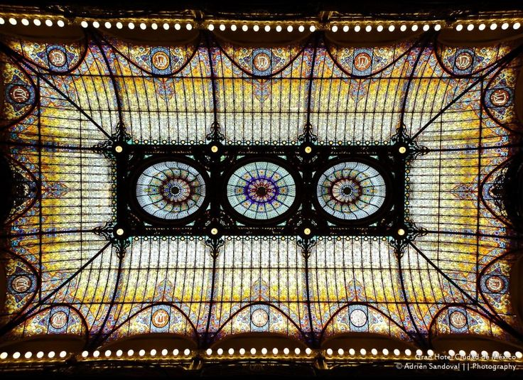12 Breathtaking Stained Glass Ceilings
