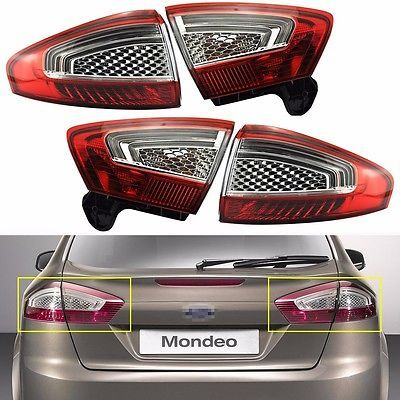 New OEM Tail Lights Rear Lamps Set For Ford Mondeo 2011-2012