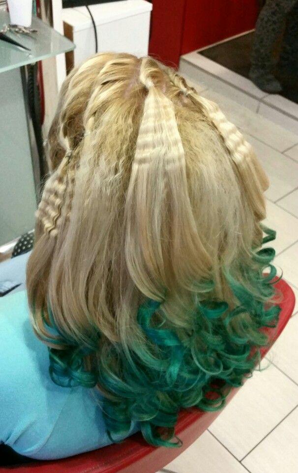 Zöld haj