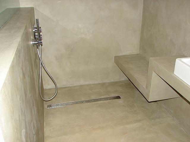douche l 39 italienne b ton cir ma v pinterest. Black Bedroom Furniture Sets. Home Design Ideas