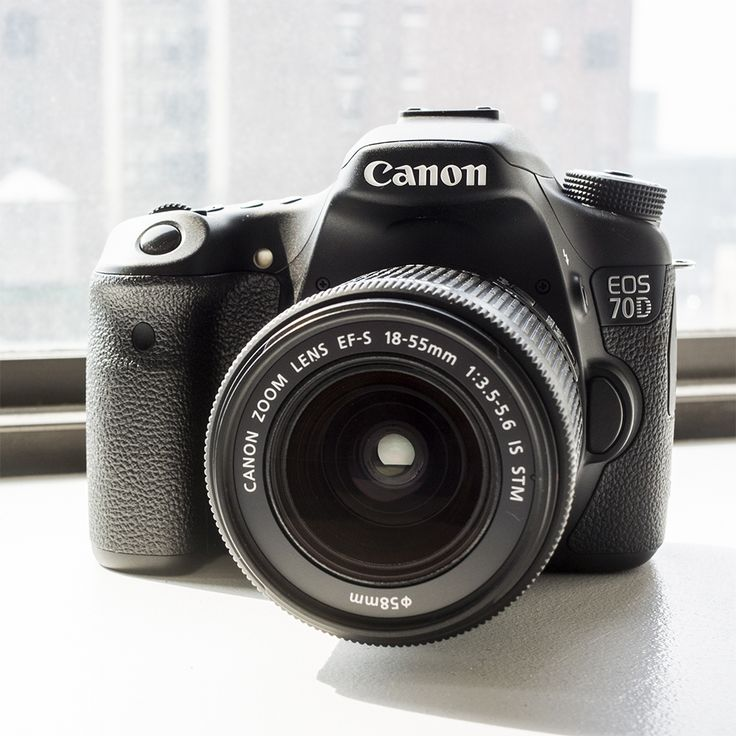Canon EOS 70D Features Smooth Video Autofocus