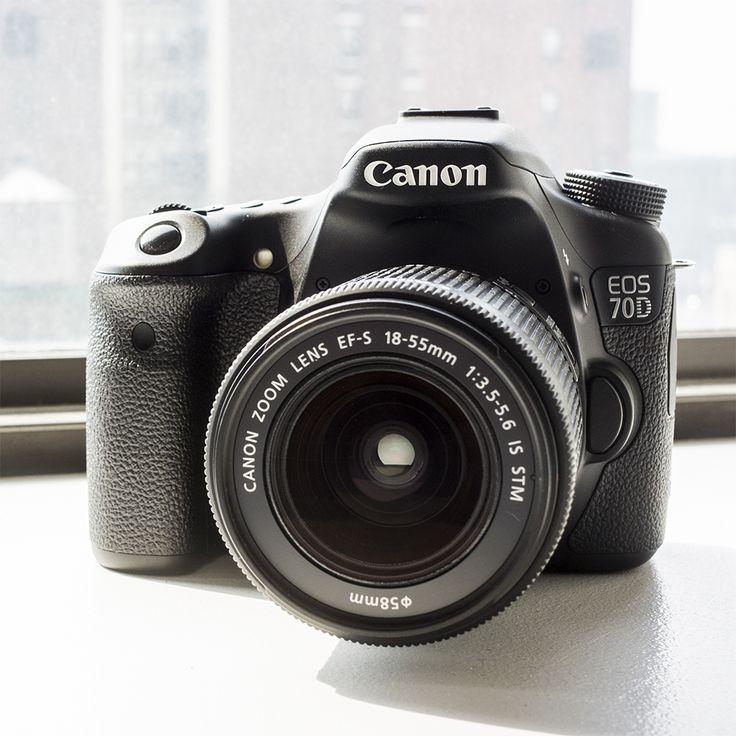 Canon EOS 70D Features Smooth Video Autofocus