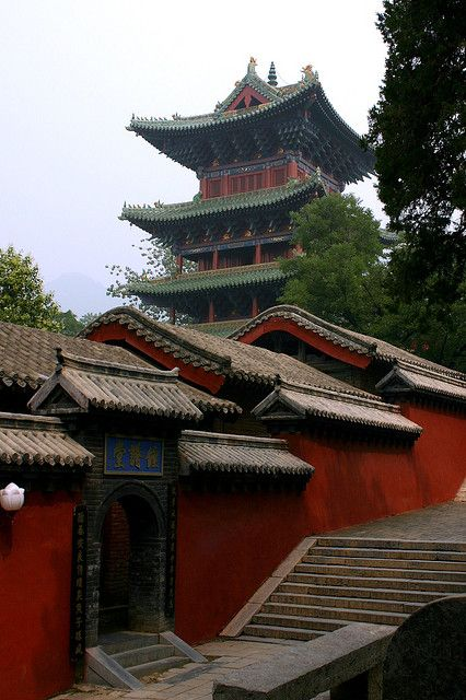 uncommonjones:  Another Shaolin View via photopin cc Shaolin Temple (or Shaolin Monastery) near Dengfeng, Zhengzhou, Henan province, China