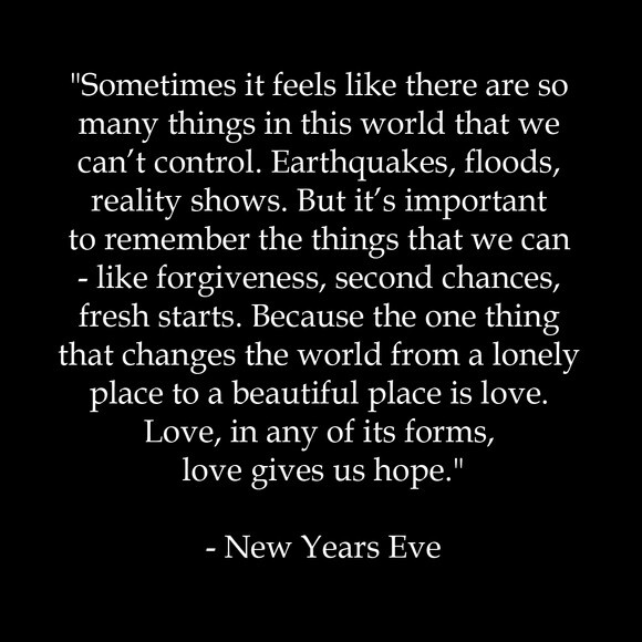 Happy New Year's Eve Everyone!