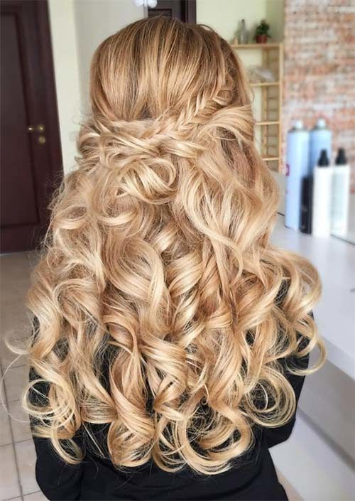 Incredible Long Curly Hairstyles for 2018 – # 2018 #Hairstyles # for #Year #Long –