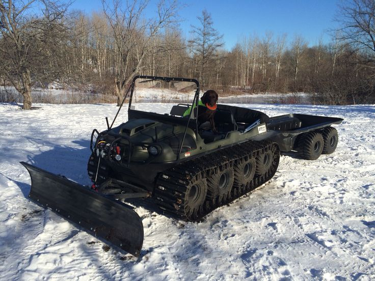 Snow Plow Prices >> Argo Avenger 8x8 amphib with plow and trailer | Buying the ...