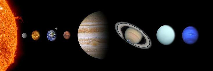 Solar System, Sun, Mercury, Venus