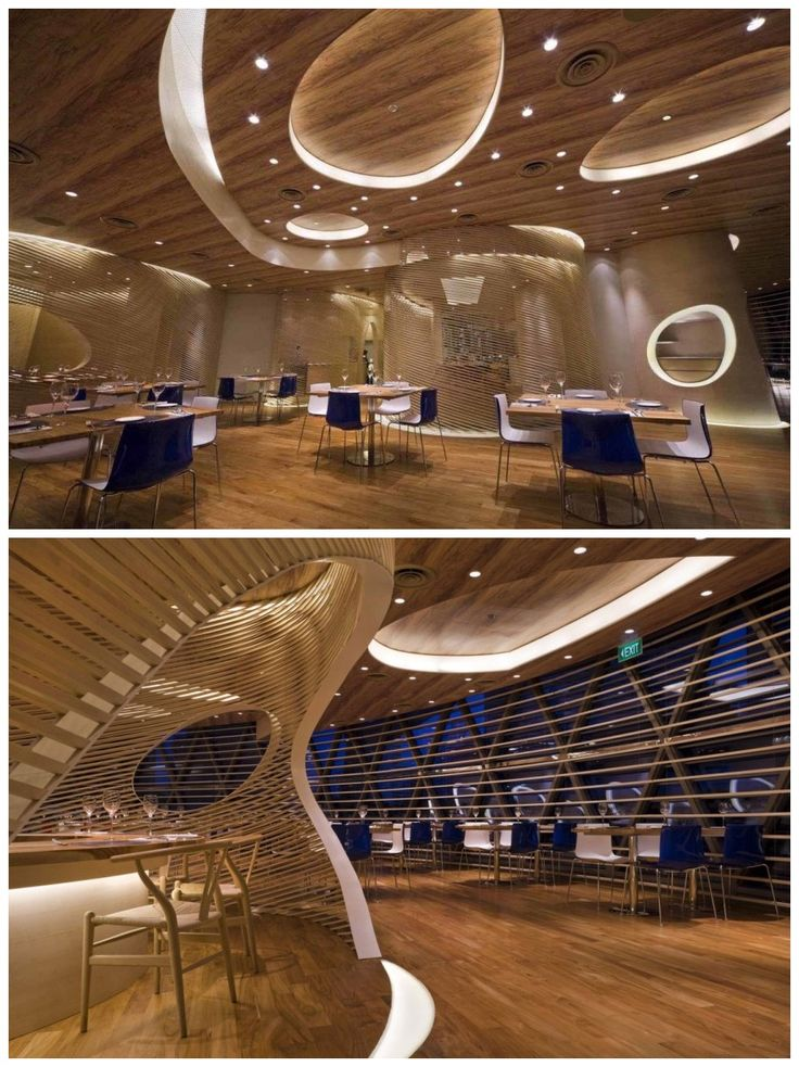 The nautilus project modern interior restaurant design