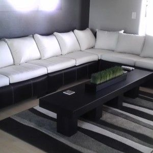 Marvelous Long, Narrow Coffee Table For Living Room Space With Sectional Couch \\  From Ryobi