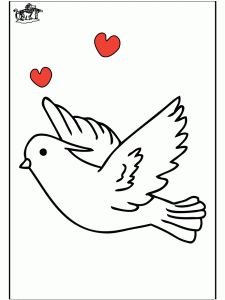Pigeon Coloring Pages   Preschool And Kindergarten