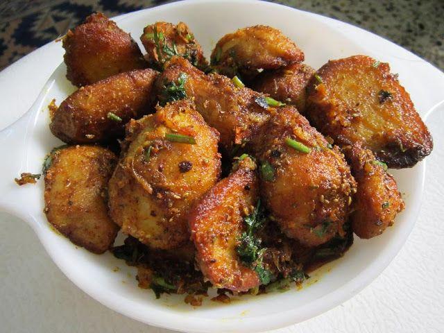 Ajwaini Masala Arbi (Colocasia /Taro Root fry)
