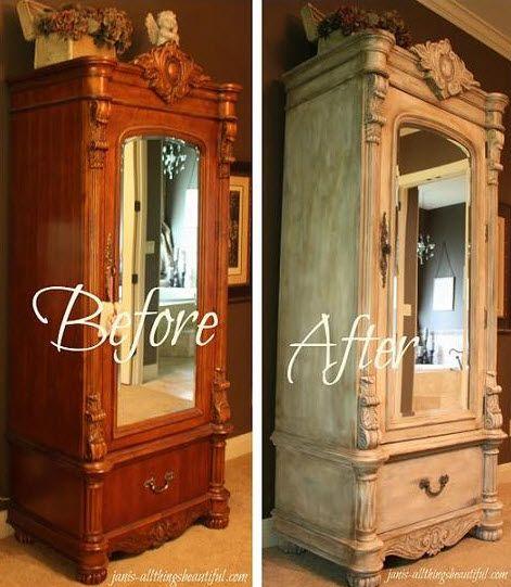 23 best restauration meubles anciens images on Pinterest Painted - comment restaurer un meuble