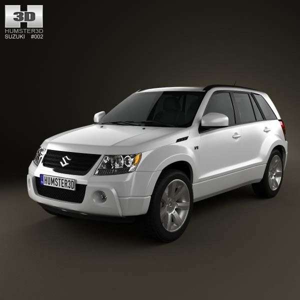3D Suzuki Grand Vitara 2011 Model - 3D Model