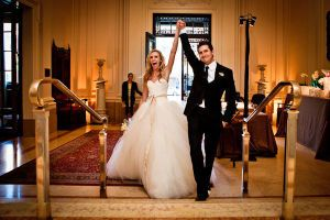 Brides and Grooms take note! This gorgeous, well thought out and planned to perfection - by Dream a Little Dream Events,no less - wedding started as two completely different visions. The bride wanted fairy tale, and the groom wanted hip. Somehow, they