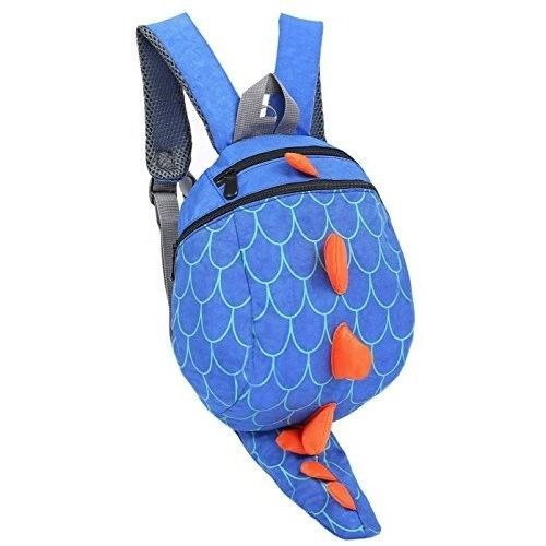 Safe Baby Harness Toddler Kids Safety Child Dinosaur Blue Back Pack Strap Rein #SafeBabyHarness