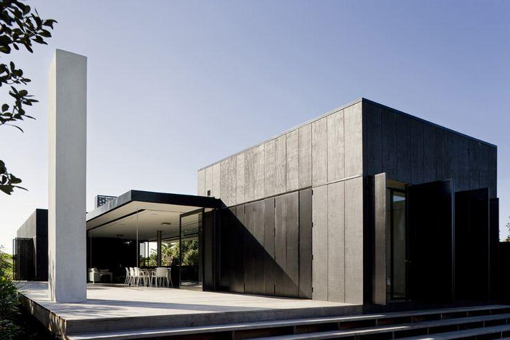 Amplitud Y Diseño Son El Resultado De La Mezcla Entre Blanco Y Negro.  #Arquitectura · Minimalist HomeMinimalist House DesignMinimalist ...
