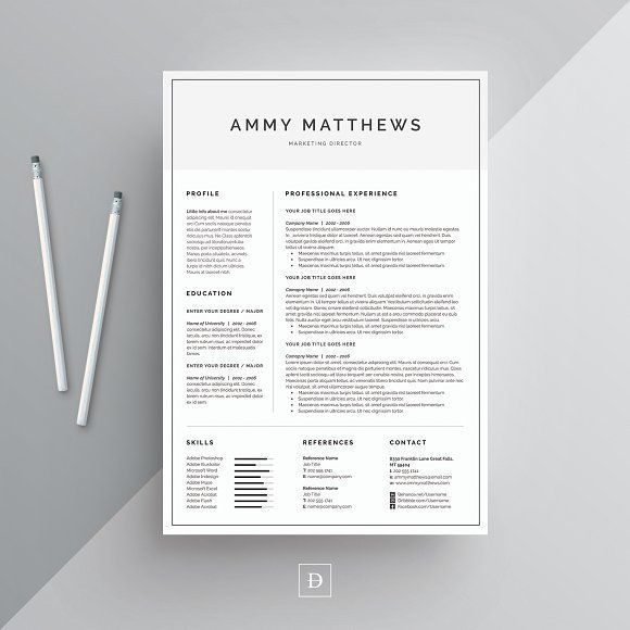 25+ unique Resume cover letters ideas on Pinterest Cover letter - classic resume design