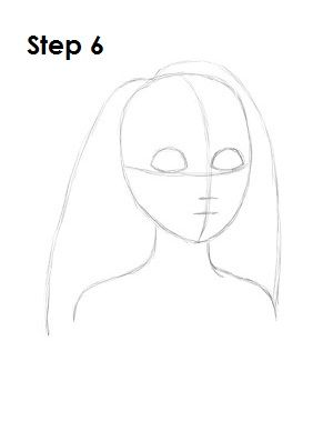 How to Draw Rapunzel Step 6