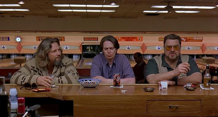 The Big Lebowski Bar scene