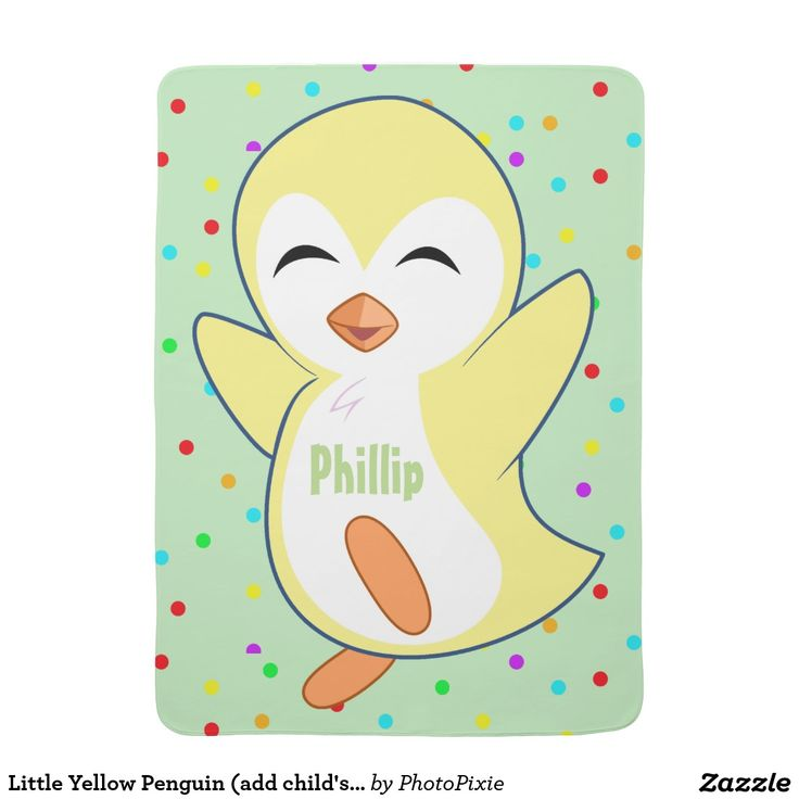 Little Yellow Penguin (add child's name)