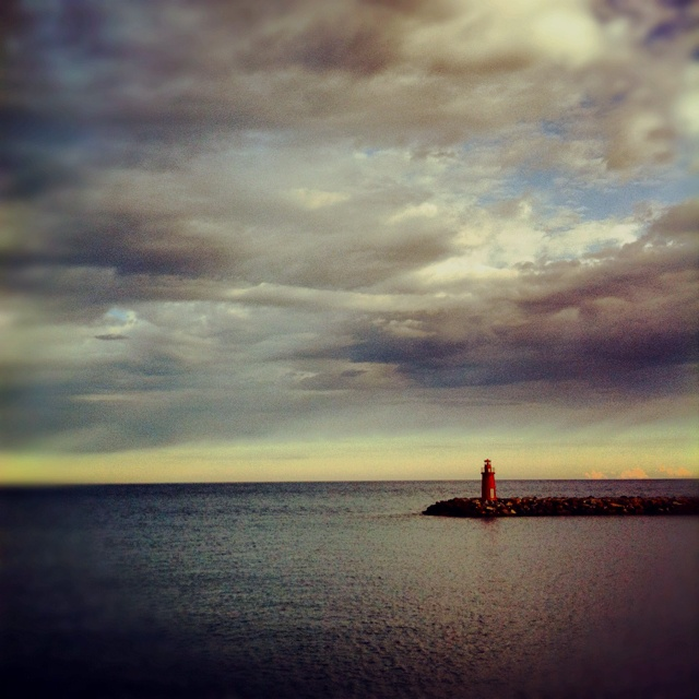 The Lighthouse loneliness...
