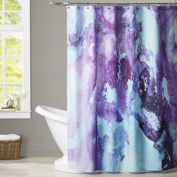 Deb Mcnaughton Bubbles Single Shower Curtain In 2021 Purple Shower Curtain Shower Curtain Tree Shower Curtains