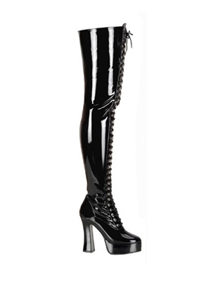 stretch patent thigh high boot things i want soon