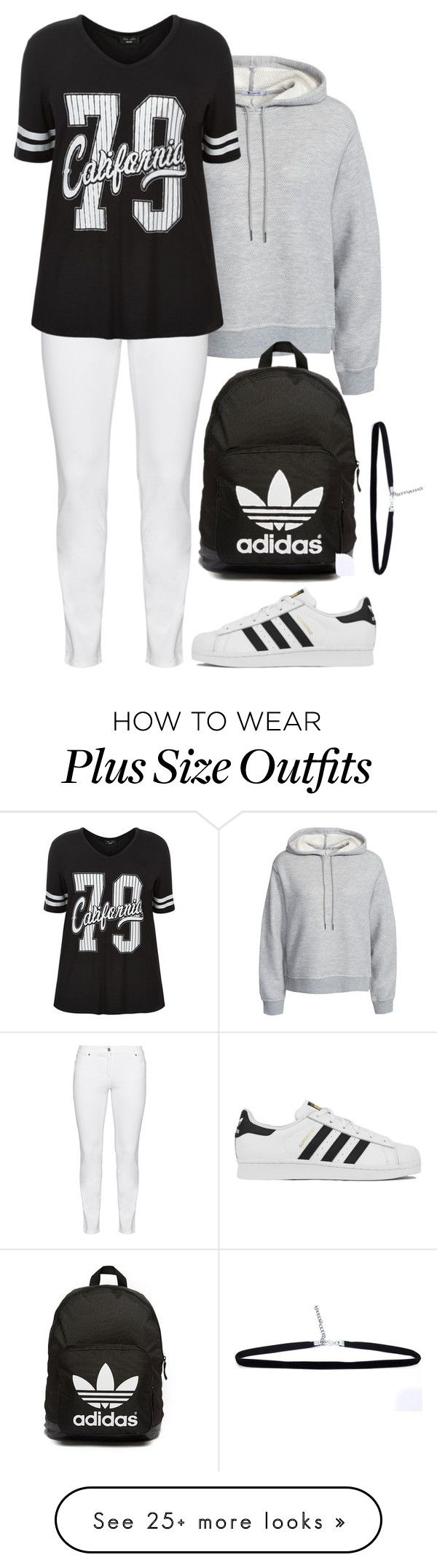 """""""Untitled #284"""" by sunshinesmiley2000 on Polyvore featuring T By Alexander Wang, Steilmann, adidas, adidas Originals, women's clothing, women, female, woman, misses and juniors"""