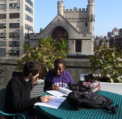 Hunter College, located in the heart of bustling Manhattan, is the largest college in the City University of New York (CUNY) system.  http://www.payscale.com/research/US/School=CUNY_-_Hunter_College/Salary