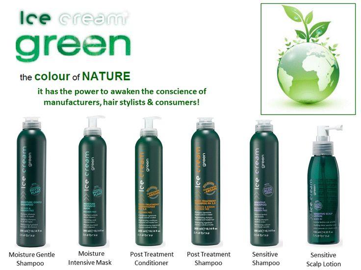 """Nouvelle ligne """"verte"""" de traitements professionnels ULTRA DOUX, formulés avec des PRINCIPES ACTIFS NATURELS et éco-certifiés: -sans SLS ni SLES.-sans Chlorure de Sodium ni Sulfates.-sans Parabène.-sans Colorant.-sans Parfum ou avec des Parfums dépourvus d'allergènes.-avec une quantité de Nickel, Chrome et Cobalt inférieure à 1 part sur 1 million."""