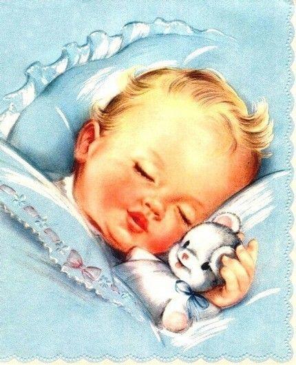Illustrations divers  - Bébés d'antan