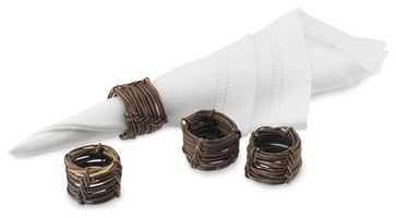 Nest Napkin Ring eclectic napkin rings