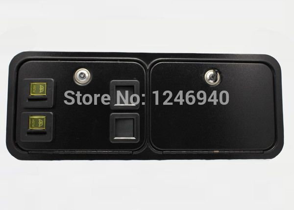high quality Dual american style coin selector door for arcade cabinet/casino machine/slot cabinetCoin operated machine