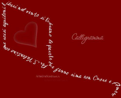 calligrammi poesia - Cerca con Google