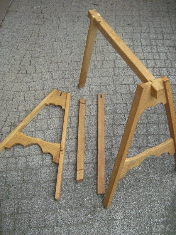 Knockdown Sawhorse Plans Free Woodworking Projects Amp Plans