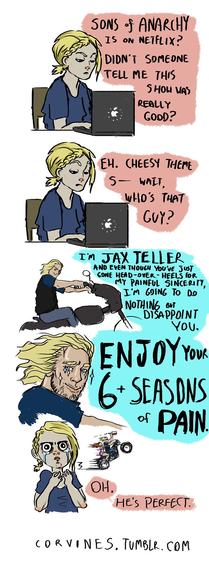 Pretty much. [Sons of Anarchy]