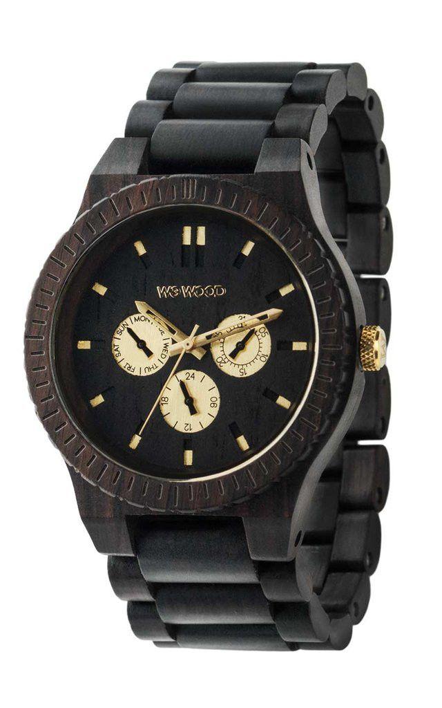 Kappa Black RO Wood Watch - Black - State of Green