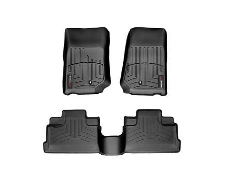 WeatherTech FloorLiner  - cannot recommend these enough, I can get in my brand new car with mud all over my shoes and not worry about! the high sides are great
