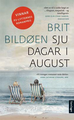 Forside: Sju dagar i august / Brit Bildøen