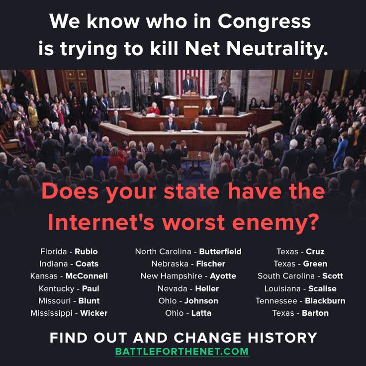 Congress is trying to kill Net Neutrality