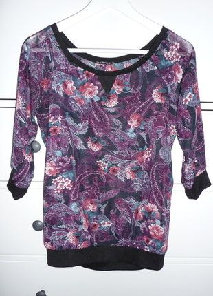 Kupuj mé předměty na #vinted http://www.vinted.cz/damske-obleceni/s-three-fourths-rukavem/15465375-chiffonova-bluza-s-kvety-a-ornamenty