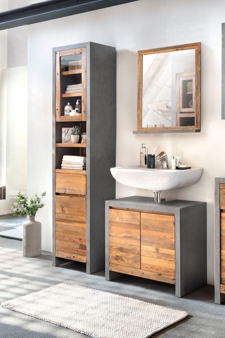 Bad Hochschrank Burnham Hochschrank Kleine Badezimmer Design Badezimmer Klein