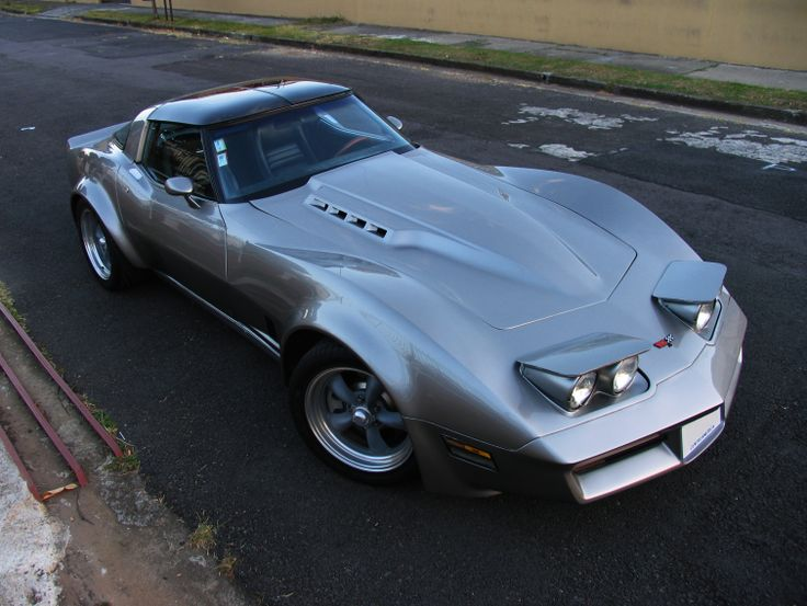 81 Vette Ls6 T56 C4 C5 Susp Flares 315 S In The Back