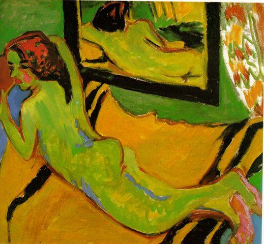 Ernst Ludwig Kirchner http://gsbasement.blogspot.com/2011/01/ernst-ludwig-kirchner.html