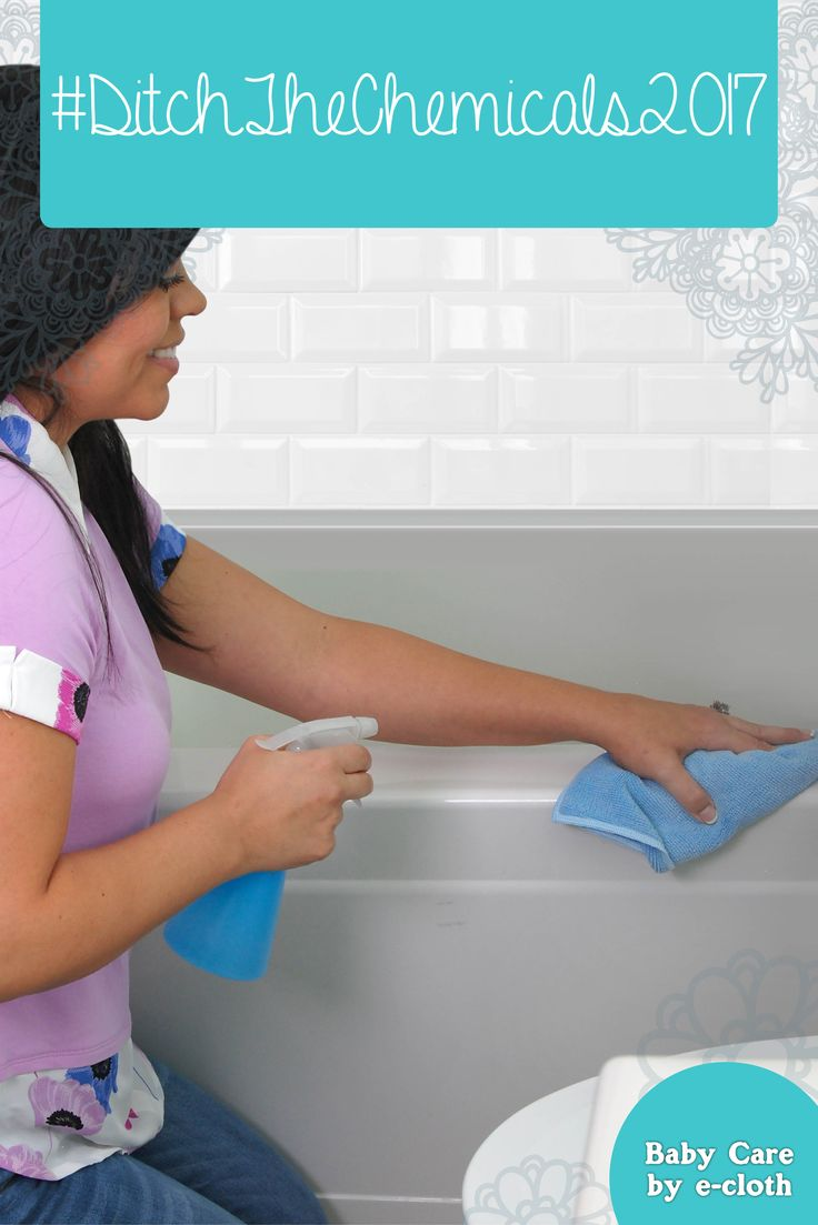 Love using it to clean all the nooks and crannies of my bathroom - Get A Sparkling Clean Bathroom With Just Water A Cloth