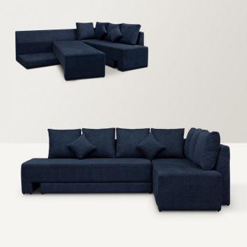 L Shaped Sofa Bed Fabfurnish