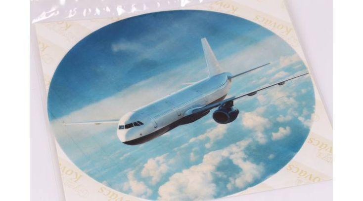 Repülőgép a felhők között tortaostya - Süss Velem.com