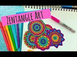 Resultado de imagen para zentangle art