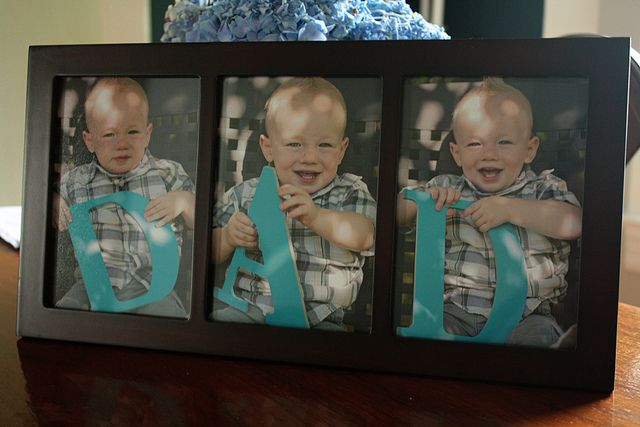 Father's Day frameFather'S Day Gifts, Mothers Day, Gift Ideas, Diy Gift, Cute Ideas, Fathers Day Gift, Kids, Letters, Pictures Frames