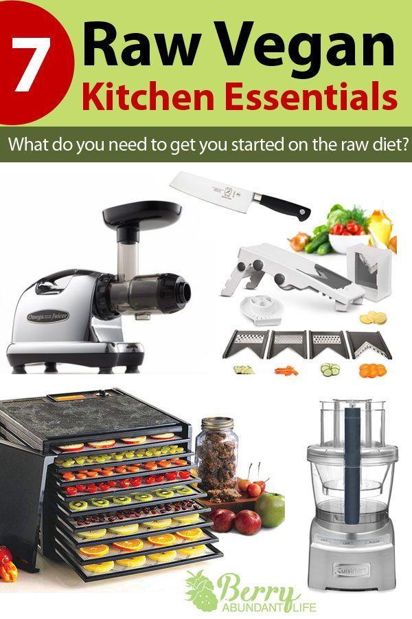 raw food diet kitchen tools
